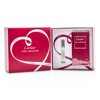 Cartier Kit Declaration: Eau De Toilette Spray 50ml + Eau De Toilette Spray 9ml