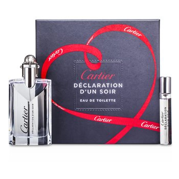 Cartier Kit Declaration dun Soir: Eau De Toilette Spray 50ml + Eau De Toilette Spray 9ml