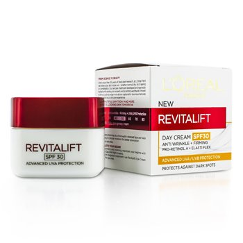 LOreal Revitalift Day SPF 30 (Anti-Rugas + Firming)