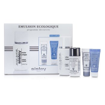 Sisley Kit Ecological Compound Discovery:Ecological Compound Day & Night 50ml, Global Perfect 10ml, Express Flower Gel 10ml...