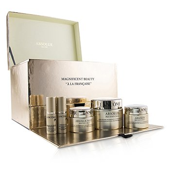 Lancôme Kit Absolue Precious Cells: Absolue SPF 15 50ml & 15ml + Tratamento Noturno 15ml + Serum Para Olhos 5ml + Oleo-Serum 5ml