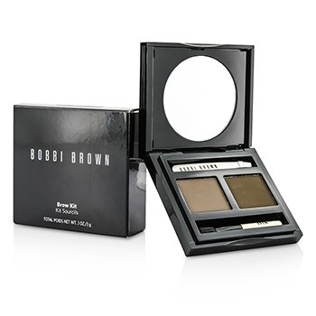 Bobbi Brown Kit Para Sobrancelha- # 02 Saddle/ Mahogany