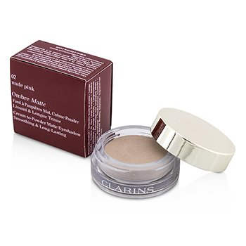 Clarins Sombra Ombre Matte - #02 Nude Pink