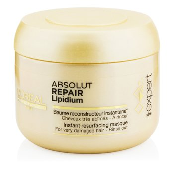 LOreal Professionnel Expert Serie - Máscara Absolut Repair Lipidium Instant Resurfacing (Cabelo Danificado)