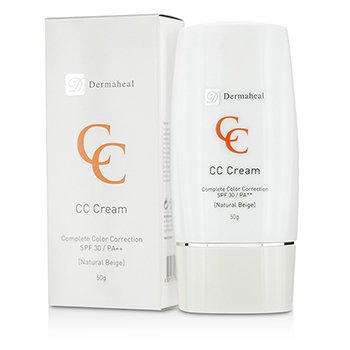 Dermaheal CC Cream SPF30 - Natural Beige