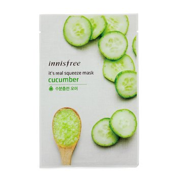 Innisfree Máscara Its Real Squeeze - Pepino