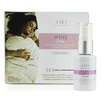 Farmhouse Fresh Serum Antioxidante Wine Down Overnight Super Recovery