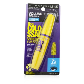 Maybelline Rímel Volum Express The Colossal Waterproof - #Classic Black