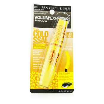 Maybelline Rímel Volum Express The Colossal Cat Eye Washable - #Glam Black