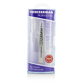 Tweezerman Professional Slant Tweezer - Regency Finish