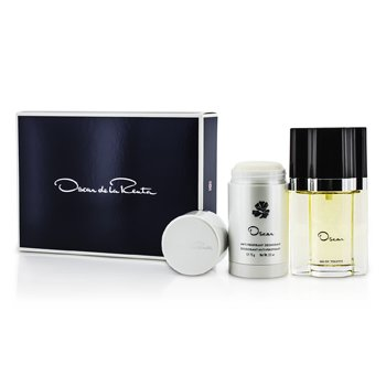 Oscar Coffret: Eau De Toilette Spray 50ml/1.7oz + Deodorant Stick 75g/2.5oz