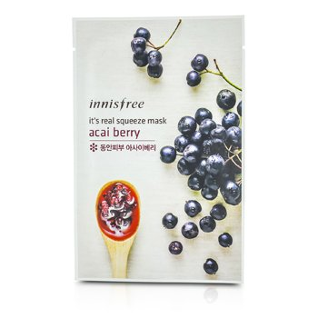 Innisfree Its Real Squeeze Mask - Acai Berry