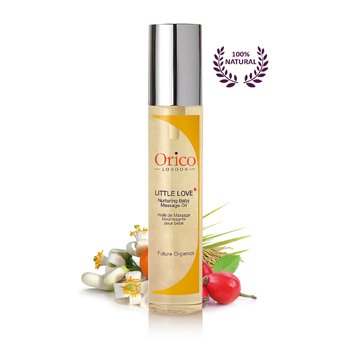 Orico London Little Love Nurturing Baby Massage Oil