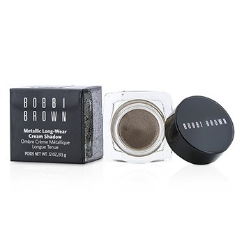 Bobbi Brown Sombra em Creme Metallic Long Wear - # 04 Brown Metal