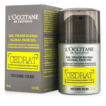 LOccitane Gel Facial Cedrat Global