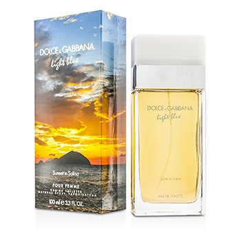ad9702408bc96 Dolce   Gabbana Light Blue Sunset In Salina Eau De Toilette Spray (Limited  Edtion) 100ml Brasil