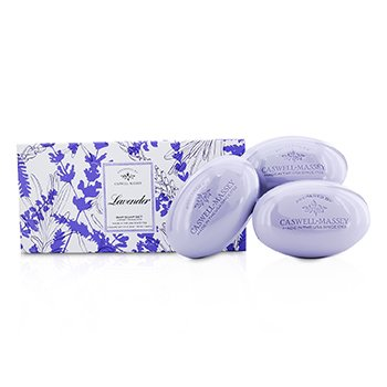 Caswell Massey Lavendar Bar Soap Set