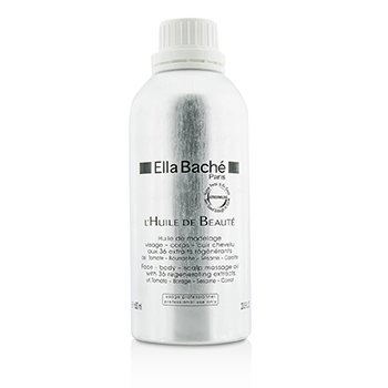 Ella Bache Face-Body-Scalp Massage Oil (Salon Product)