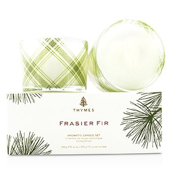Thymes Set de Vela Aromática - Frasier Fir
