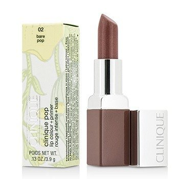 Clinique Primer + Cor Labial Clinique Pop - # 02 Bare Pop