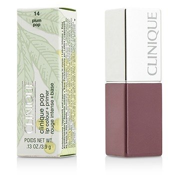 Clinique Primer + Cor Labial Clinique Pop - # 14 Plum Pop