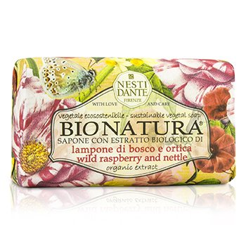 Nesti Dante Bio Natura Sustainable Vegetal Soap - Wild Raspberry & Nettle
