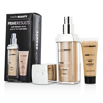 Fusion Beauty Kit Anti Rugas Prime Results: 1x Primer Anti Rugas + 1x Mini Primer Anti Rugas
