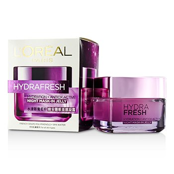 LOreal Hydra Fresh Hydration+ Antiox Active Mask-In Jelly