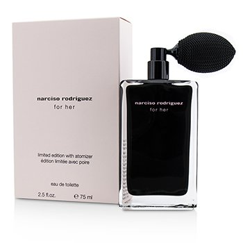 Narciso Rodriguez For Her Eau De Toilette with Atomizer (Limited Edition)