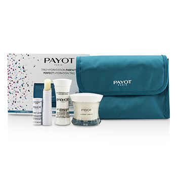Payot Perfect Hydration Trip Set : Cleansing Milk 30ml + Cream 50ml + Lip Balm 4g + Bag