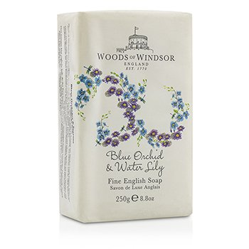 Woods Of Windsor Blue Orchid & Water Lily Fine English Soap