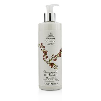 Woods Of Windsor Pomegranate & Hibiscus Moisturising Hand & Body Lotion