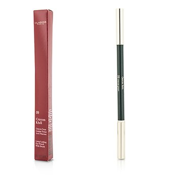 Clarins Long Lasting Eye Pencil with Brush - # 09 Intense Green