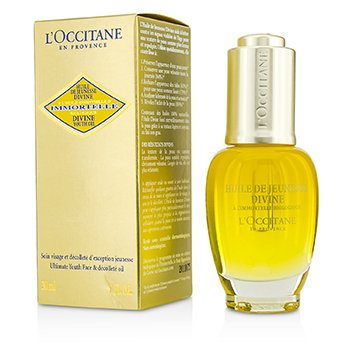 LOccitane Immortelle Divine Youth Oil - Ultimate Youth Face & Decollete Oil