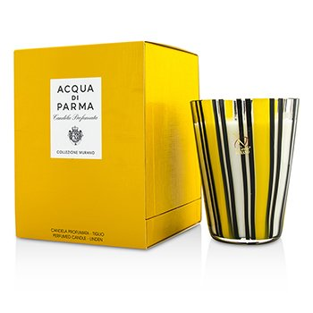 Acqua Di Parma Murano Glass Perfumed Candle - Tiglio (Linen)