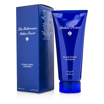Acqua Di Parma Blu Mediterraneo Italian Resort Smoothing Body Scrub