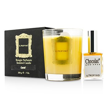 Il Profvmo Scented Candle - Chocolat (with Room Frangrance Spray 15ml)