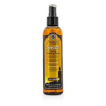 Agadir Argan Oil Spritz Styling Finishing Spray - Extra Firm Hold