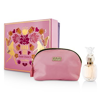 Anna Sui Secret Wish Fairy Dance Coffret: Eau De Toilette Spray 30ml + Cosmetic Pouch
