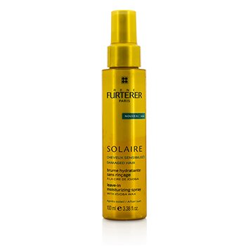 Rene Furterer Solaire After Sun Leave-In Moisturizing Spray with Jojoba Wax (For Damaged Hair)