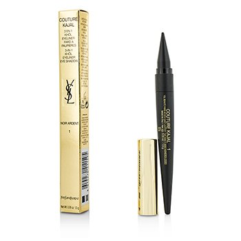 Yves Saint Laurent Couture Kajal 3 in 1 Eye Pencil (Khol/Eyeliner/Eye Shadow) - #1 Noir Ardent