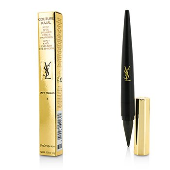 Yves Saint Laurent Couture Kajal 3 in 1 Eye Pencil (Khol/Eyeliner/Eye Shadow) - #4 Vert Anglais
