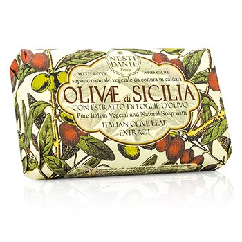 Nesti Dante Natural Soap With Italian Olive Leaf Extract  - Olivae Di Sicilia
