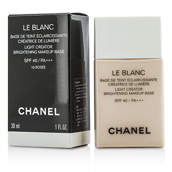 Chanel Le Blanc Light Creator Brightening Makeup Base SPF40 - #10 Rosee