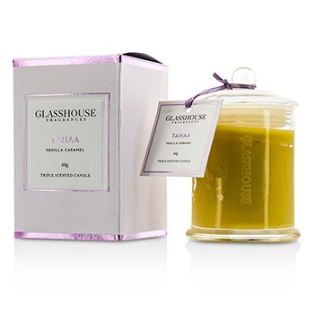 Glasshouse Triple Scented Candle - Tahaa (Vanilla Caramel)