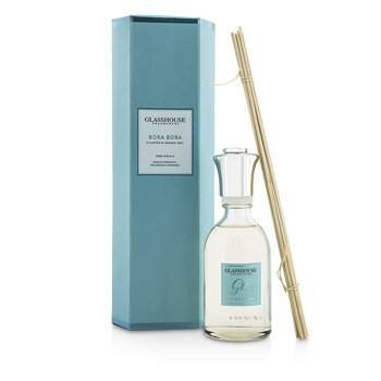Glasshouse Triple Strength Fragrance Diffuser - Bora Bora (Cilantro & Orange Zest)