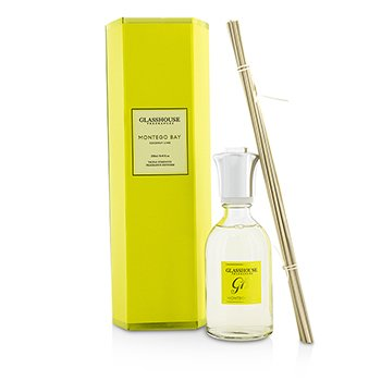 Glasshouse Triple Strength Fragrance Diffuser - Montego Bay (Coconut Lime)