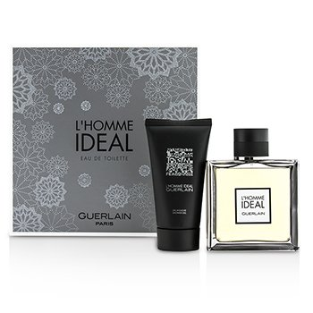 Guerlain LHomme Ideal Coffret: Eau De Toilette Spray 100ml + Shower Gel 75ml