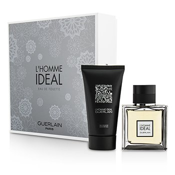 Guerlain LHomme Ideal Coffret: Eau De Toilette Spray 50ml + Shower Gel 75ml