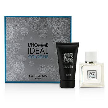 Guerlain LHomme Ideal Cologne Coffret: Eau De Toilette Spray 50ml + Shower Gel 75ml